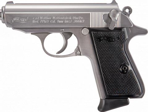 Walther PPK/s facing left