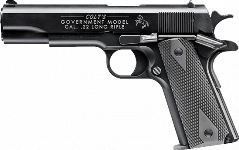 Walther Colt 1911 A1 facing left