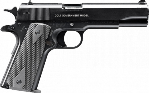 Walther Colt 1911 A1 facing right