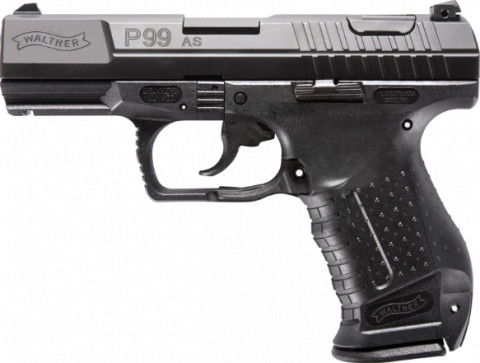 Walther P99 AS facing left
