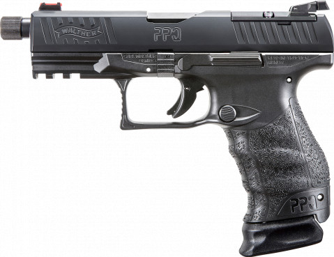 Walther PPQ Q4 Tac M2 facing left