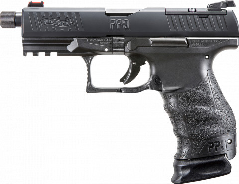 Walther PPQ Q4 Tac M1 facing left