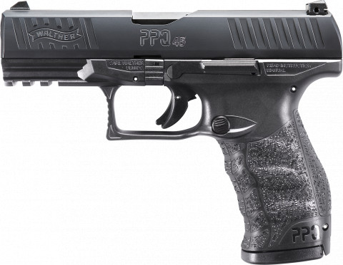 Walther PPQ 45 facing left