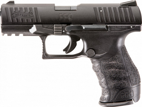 "Walther PPQ 22 4"" facing left"