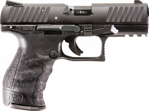 "Walther PPQ 22 4"" facing right"