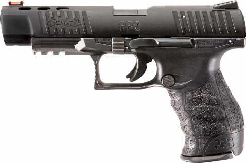 "Walther PPQ 22 5"" facing left"