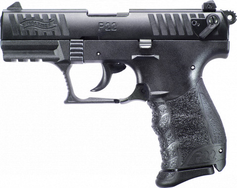 Walther P22 Q facing left