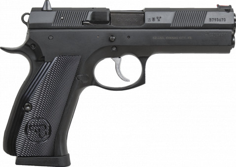 CZ 97 B facing right
