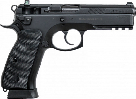 CZ SP-01 facing right