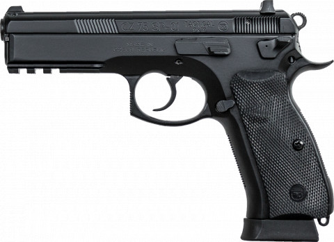CZ SP-01 facing left